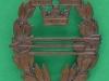 Armens Skyttemärke för Automatvapen i bronce, 27 x 32mm
