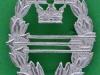 Armens Skyttemärke för Automatvapen. Kaldes også for propagandaskytte. 25 x 33mm.