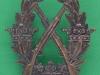 Armens Skyttemærke for gevær, 31 x 32mm