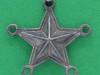 Gammel stjerne for gradsbeteckning, uniform M/27 og ældre uniform, 19mm