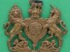 KK 1128. Royal Home Counties Reserve Regiment. collar badge. 41  x37 mm.