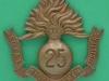 KK 1143, 25th Battalion Royal Frontiersmen Fusiliers, City of London, die struck 56 x 57mm.