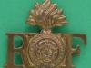 CW145, The Royal Fusiliers shoulder title, 37 x 32mm