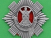KK 589.  Royal Scots car badge. 55x58 mm.