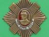 KK 589. Spoke badge, gilding and enamelled. 60 mm.