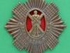 KK 589. The Royal Scots, Lothian Regiment, all brass. 56x58 mm.