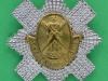 Royal Scots pipers badge. 54x55 mm.