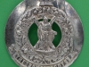 The Royal Scots Plaid brooch 108mm. victorian crown. Number 5.