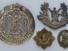 The Royal Scots badges