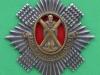 Ukendt The Royal Scots. Text The Royal Regiment. 57x59 mm.