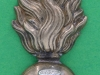 CW184, Royal Scots Fusiliers collar badge. 17x40 mm.