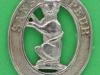 5th Seaforth Highlanders, Caithness, scarce collar badge. 28x33 mm.