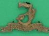 CW260. Seaforth Highlanders collar badge. 43x25 mm.