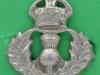 CW263. Cameron Highlanders collar badge. 21x23 mm.