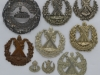 Cameron Highlanders badge group.