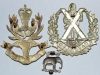 Queens Own Highlanders 1961-1994 (Seaforth & Camerons). Badge group reverse.