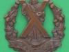 KK 688. Queens Own Cameron Highlanders. Bronce 55x56 mm.
