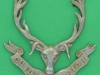 Seaforth Highlanders. unknown variation not in books. Three lugs 57x59 mm.