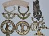 The Seaforth Highlanders badges reverse