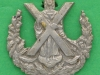 Unknown Camerons collar badge. 25 mm.
