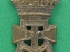 CW178. The Green Howards collar badge. 16x27 mm.