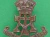 KK 1984. The Green Howards 1950-58. Cap badge slide 34x37 mm.