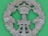 KK 615. Alexandra, Princess of Wales Own Yorkshire Regiment. The Green Howards. Pre 1903. 43x42 mm.