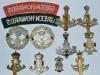Queen Alexandra PWO Yorkshire Regiment, Green Howards badges reverse.