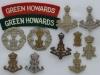 Queen Alexandra PWO Yorkshire Regiment, Green Howards badges.