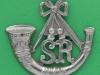 Cameronians Scottish Rifles. 2nd Battalion   1882-1900, Bloomer 101. 53x51 mm.
