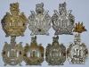 Kings Own Scottish Borderers badge group reverse.