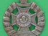 KK 2019. Royal Rifle Brigade, small beret badge. Lugs 28x32 mm.