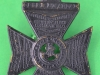 KK 674. Kings Royal Rifle Corps. solid crown and voiced centre. Slide 39x54 mm.