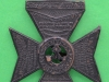 KK 674. Kings Royal Rifle Corps. voided crown and centre. Long slider 40x55 mm.