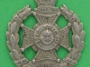 KK 704.The Royal Rifle Brigade, Small beret badge. Lugs 28 x 32 mm.