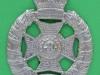 The Royal Rifle Brigade shoulder belt plate. Lugs 52x71 mm.