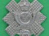 CW257. Highland Light Infantry collar left 31 mm.