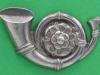 CW241. Kings Own Yorkshire Light Infantry. Left collar badge. 33x20 mm.