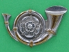CW241. Kings Own Yorkshire Light Infantry. Right collar badge. 33x20 mm.