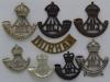 Durham Light Infantry badge group.
