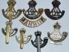 Durham Light Infantry badge group reverse.