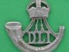 KK 2015. Durham Light Infantry beret badge. Slide sept 1950. Firmin 32x33 mm.