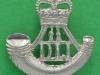KK 2016. Durham Light Infantry beret badge post 1953. Slide 31x30 mm.