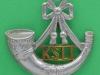 KK 671. Kings Shropshire Light Infantry. Cap badge. Slide 47x42 mm.