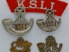Kings Shropshire Light Infantry badges.