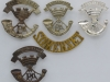 Somersetshire Light infantry badge group.