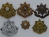 East Yorkshire Regiment badge group.