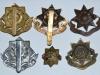 East Yorkshire Regiment badge group reverse.