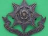 KK 609. East Yorkshire Regiment officers bronce cap badge 45x40 mm.