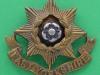 KK 609. East Yorkshire Regiment. Bronce cap badge, slide 44x40 mm.
